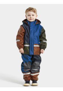 Didriksons---Rain-suit-set-for-babies---Boardman---Multicolor---Classic-Blue