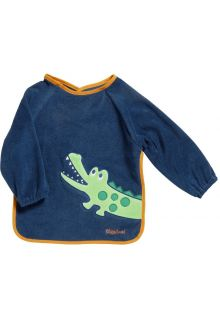 Playshoes---Sleeve-bib-with-long-sleeves-for-kids---Onesize---Navy