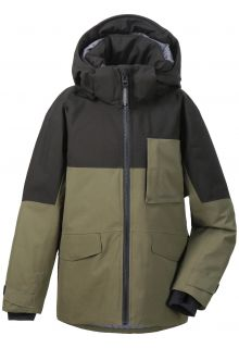 Didriksons---Padded-rain-jacket-for-boys---Luke---Fog-Green