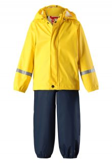 Reima---Rain-suit-for-children---Tihku---Yellow