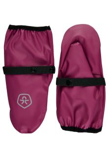 Color-Kids---Rain-mittens-for-children---Beet-Red