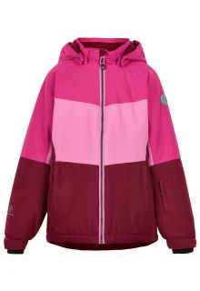Color-Kids---Ski-jacket-for-girls---Colorblock---Fuchsia-Pink