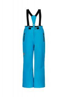 Color-Kids---Ski-pants-with-slim-fit-for-children---Solid---Cyan-Blue