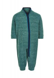 Color-Kids---Fleece-overall-for-babies---Melange---Hydro