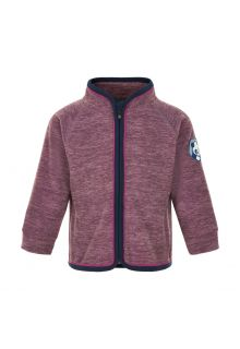 Color-Kids---Fleece-jacket-for-babies---Melange---Arctic-Dusk