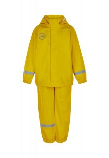 Color-Kids---Rainsuit-from-recycled-material-for-children---Solid---Yellow