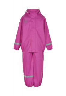 Color-Kids---Rainsuit-from-recycled-material-for-girls---Solid---Rose-Violet-