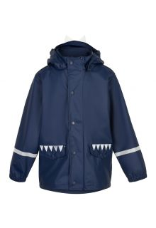 Color-Kids---Rain-jacket-for-children---Dinosaur---Dark-blue