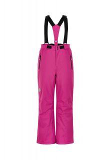 Color-Kids---Ski-pants-with-slim-fit-for-girls---Solid---Rose-Violet