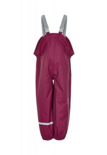 Color-Kids---Bib-rain-pants-with-suspenders-for-children---Recycled---Beet-Red-