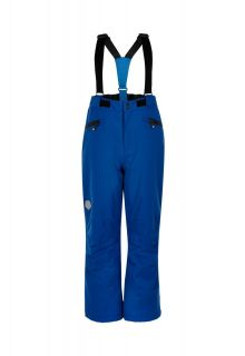 Color-Kids---Ski-pants-with-pockets-for-children---Solid---Galaxy-Blue