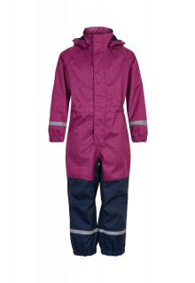 Color-Kids---Coverall-rainsuit-for-girls---No-padding---Rose-Violett