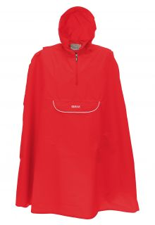 Pro-X-Elements---Packable-rain-poncho-for-children---Pasino---Red