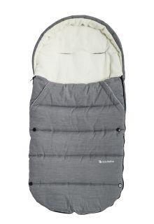 Altabebe---Footmuff-for-kids---Alpin---Grey/white