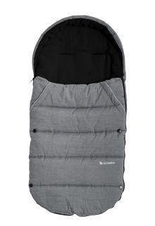 Altabebe---Footmuff-for-kids---Alpin---Grey/black