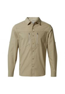 Craghoppers---UV-Shirt-for-men---Longsleeve---Kiwi-Boulder---Rubble