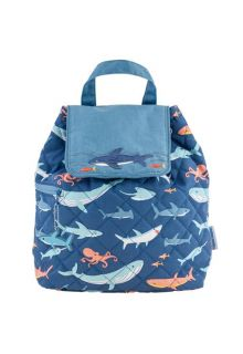 Stephen-Joseph---Quilted-backpack-for-babies---Shark