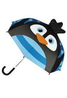 Stephen-Joseph---Pop-up-umbrella-for-children---Penguin---Blue