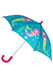 Stephen-Joseph---Color-changing-umbrella-for-girls---Mermaid---Turquoise