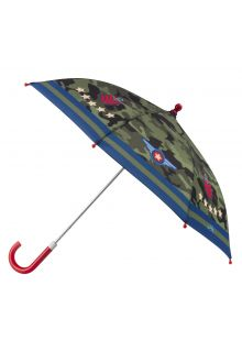 Stephen-Joseph---Umbrella-for-boys---Pilot---Camouflage-green