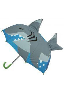 Stephen-Joseph---Pop-up-umbrella-for-boys---Shark---Blue