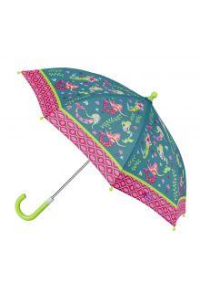 Stephen-Joseph---Umbrella-for-girls---Mermaid---Turquoise/Multi