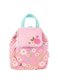 Stephen-Joseph---Quilted-backpack-for-babies---Flower