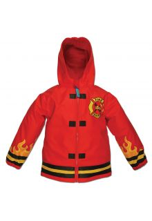 Stephen-Joseph---Raincoat-for-boys---Fire-Chief---Red
