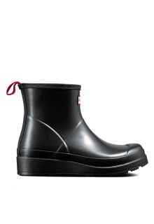 Hunter---Rainboots-for-women---Nebula-Play-Boots-Short---Black