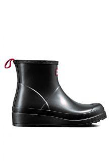 Hunter---Rainboots-for-women---Nebula-Play-Boots-Short---Black