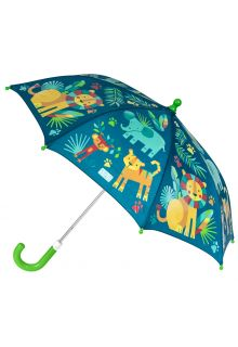Stephen-Joseph---Color-changing-umbrella-for-kids---ZOO---Darkblue