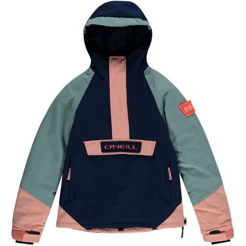 O'Neill---Ski-jacket-for-girls---Anorak---Scale-blue