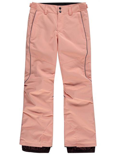O'Neill---Ski-pants-for-girls---Charm---Salmon