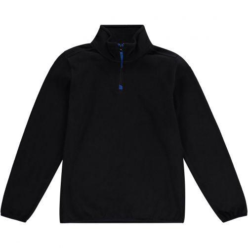 O'Neill---Half-Zip-Fleece-pullover-for-boys---Solid---Black-Out