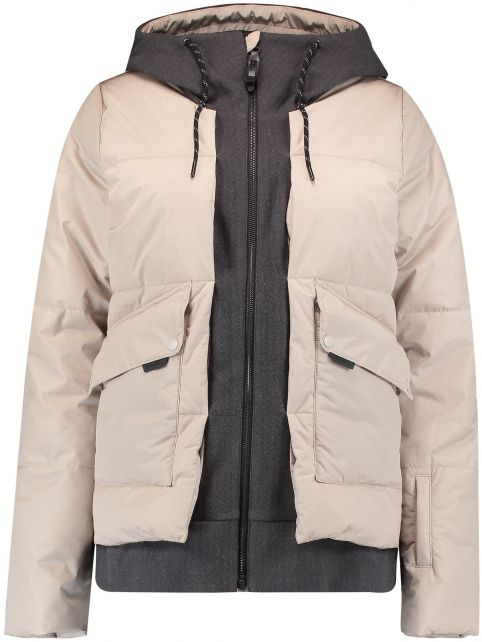 O'Neill---Ski-jacket-for-women---Short-Azurite---Chateau-Gray