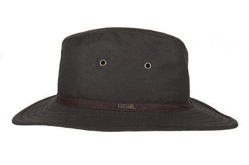 Hatland---Fabric-hat-for-men---New-Zealand---Brown