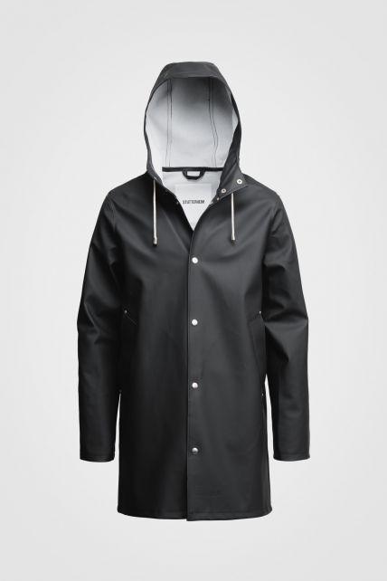 Stutterheim---Raincoat-for-men-and-women---Stockholm---Black