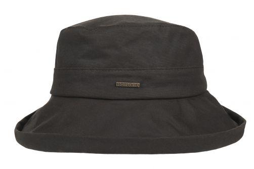 Hatland---Fabric-hat-for-women---Merridin---Brown