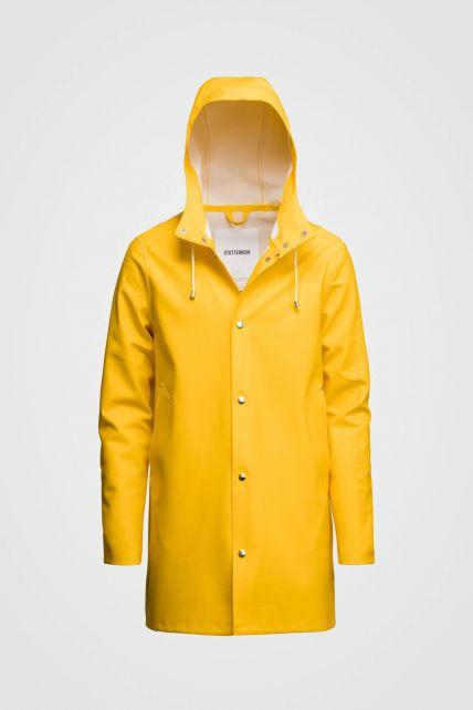 Stutterheim---Raincoat-for-men-and-women---Stockholm---Yellow