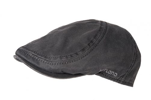 Hatland---Ivy-cap-for-men---Mayfield---Anthracite