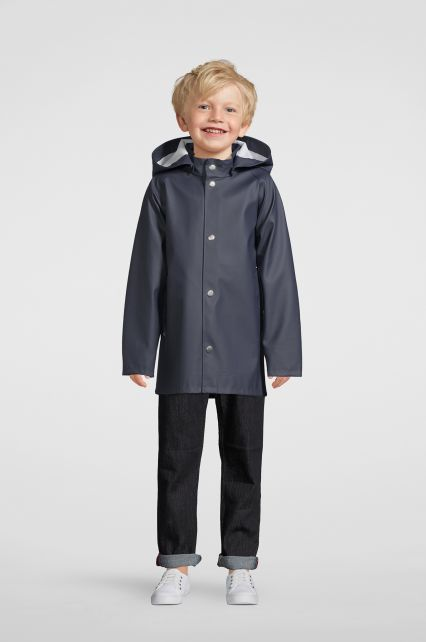 Stutterheim---Raincoat-for-children---Mini-Stockholm---Navy