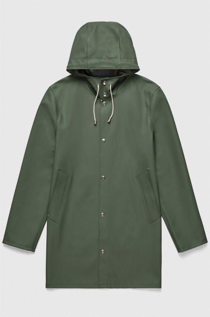 Stutterheim---Raincoat-for-men-and-women---Stockholm---Green
