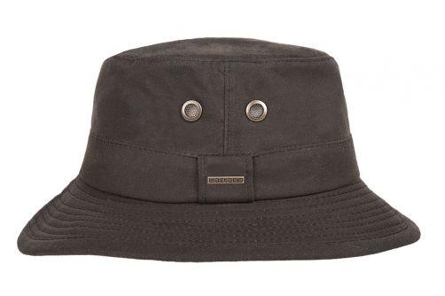 Hatland---Fabric-hat-for-men---Ledyard---Brown