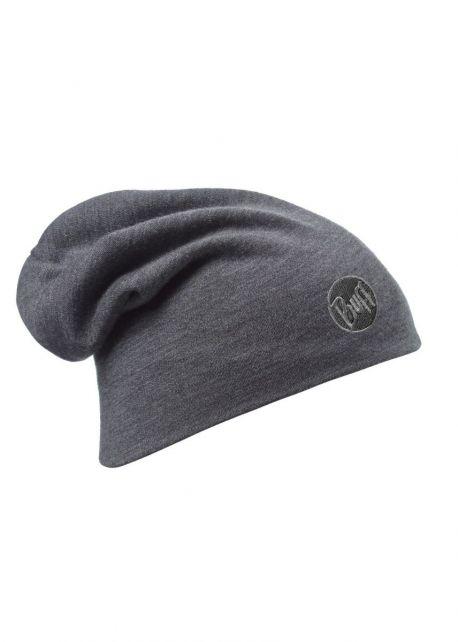 Buff---Heavyweight-Merino-Wool-Solid-Hat-for-adults---Loose---Grey