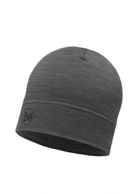 Buff---Lightweight-Merino-Wool-Hat-Solid-for-adults---Dark-Grey