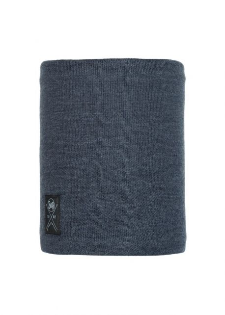 Buff---Knitted-Polar-Tube-scarf-Neo-for-adults---Navy