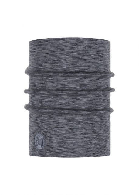 Buff---Heavyweight-Merino-Wool-Stripes-Tube-scarf-for-adults---Grey