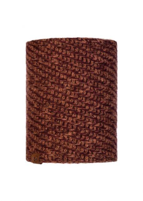 Buff---Knitted-Polar-Tube-scarf-Agna-for-adults---Rusty