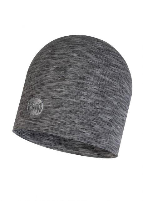 Buff---Heavyweight-Merino-Wool-Stripes-Hat-for-adults---Regular---Grey
