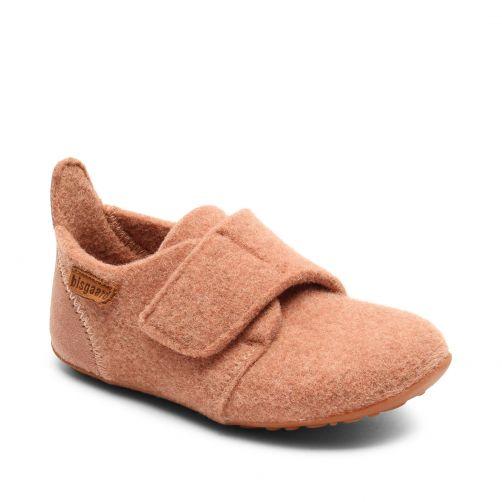 Bisgaard---Home-shoe-for-babies---Casual-wool---Rose